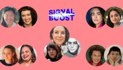 Promo image for Announcing the 2020 Signal Boost mentors