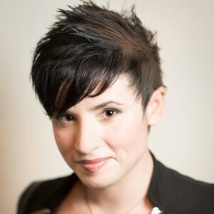 Portrait of Laurie Penny