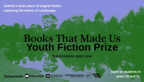 Promo image for The Books That Made Us Youth Fiction Prize
