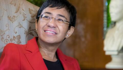 Promo image for Maria Ressa: Freedom and Fakery in the Philippines Today